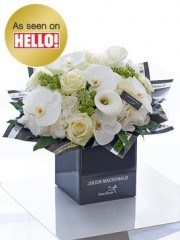 Julien Macdonald Deluxe Rose, Lily and Orchid Hand-tied