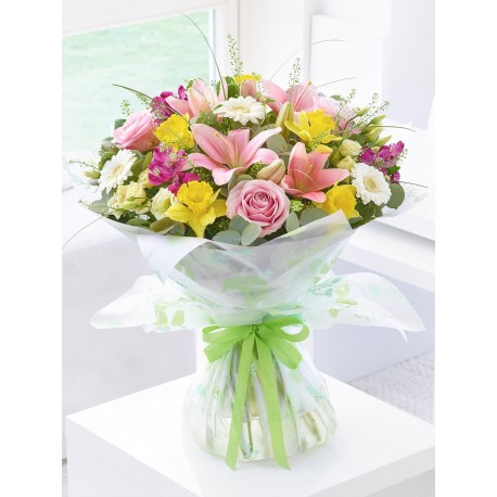 Pretty Pastels Hand-tied