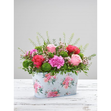 Delicate Florals Tin