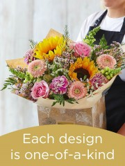 Hand-tied Bouquet £60
