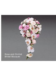 Rose and Orchid Bridal Bouquet